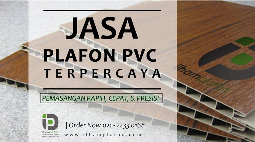 HARGA BORONGAN PLAFON PVC SHUNDA PLAFON PER METER
