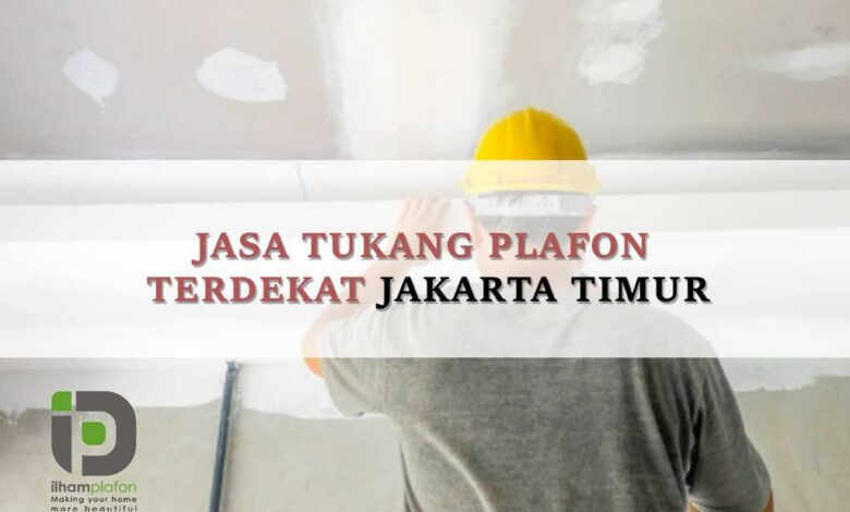 Jasa pasang Plafon Duren Sawit