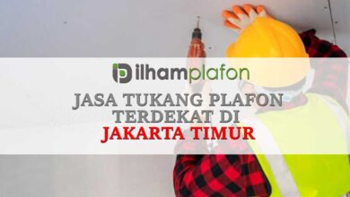 Jasa pasang Plafon Kramat Jati